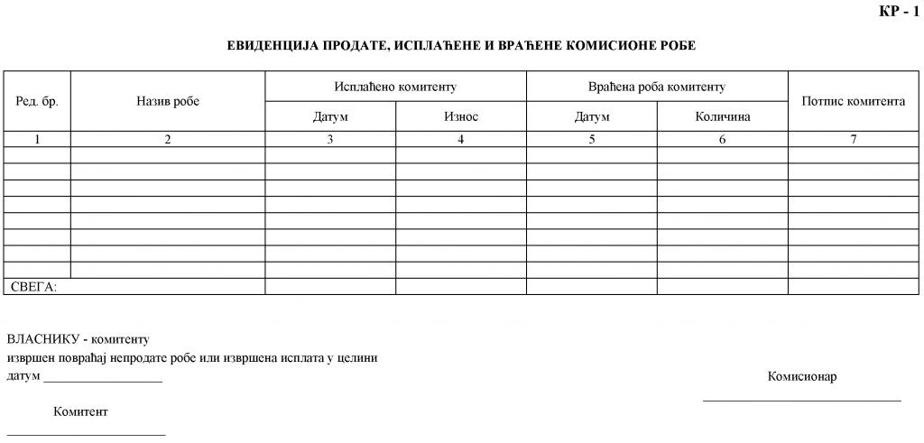 pravilnik-o-poslovim-knjigama-i-prostom-knjigovodstvu-10-kr-1-evidencija-prodate-isplacene-i-vracene-komisione-robe