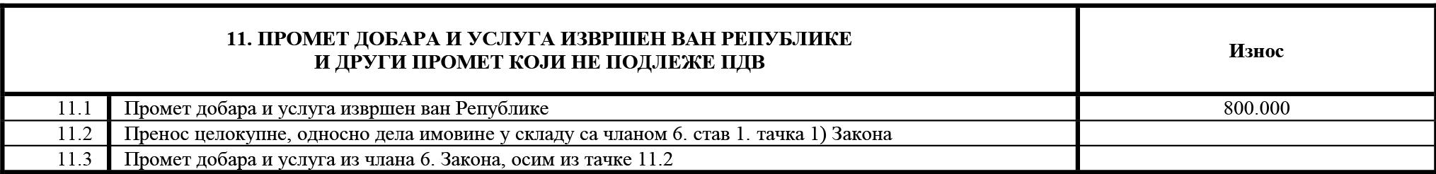 uputstvo PU obrazac POPDV primer 136