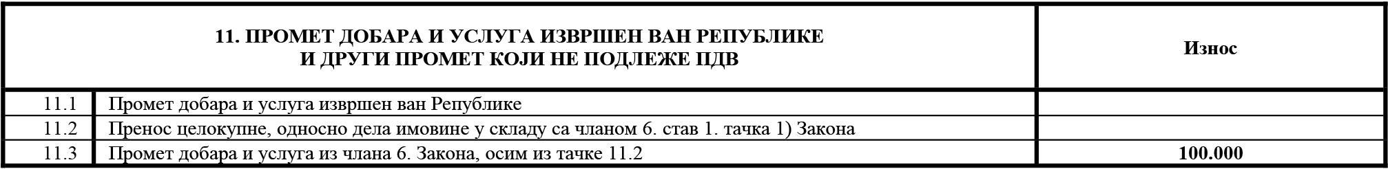 uputstvo PU obrazac POPDV primer 139